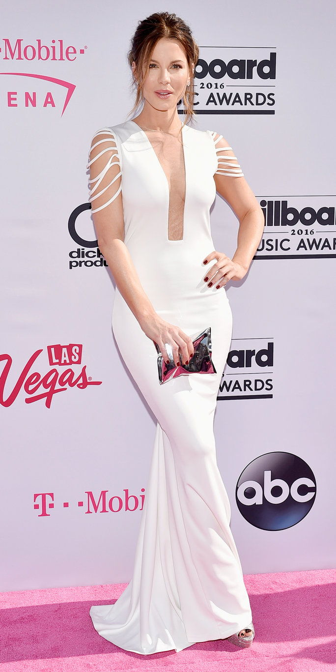 Pelakon Kate Beckinsale attends the 2016 Billboard Music Awards at T-Mobile Arena on May 22, 2016 in Las Vegas, Nevada.