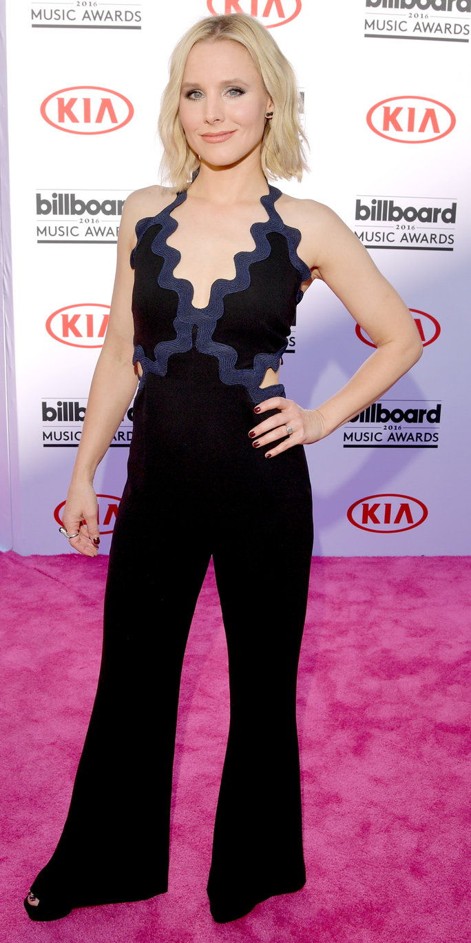 Pelakon Kristen Bell attends the 2016 Billboard Music Awards at T-Mobile Arena on May 22, 2016 in Las Vegas, Nevada.