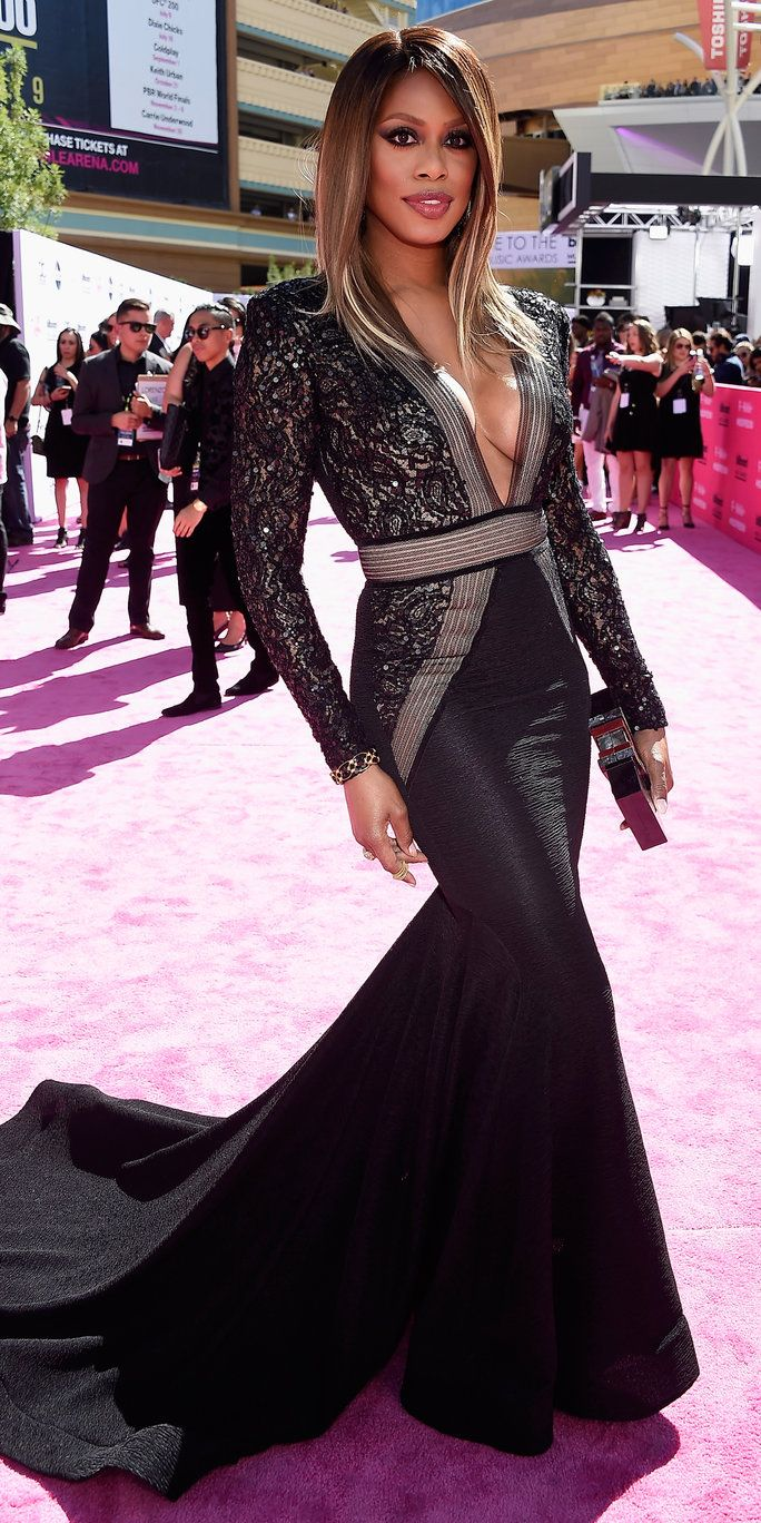 Pelakon Laverne Cox attends the 2016 Billboard Music Awards at T-Mobile Arena on May 22, 2016 in Las Vegas, Nevada.