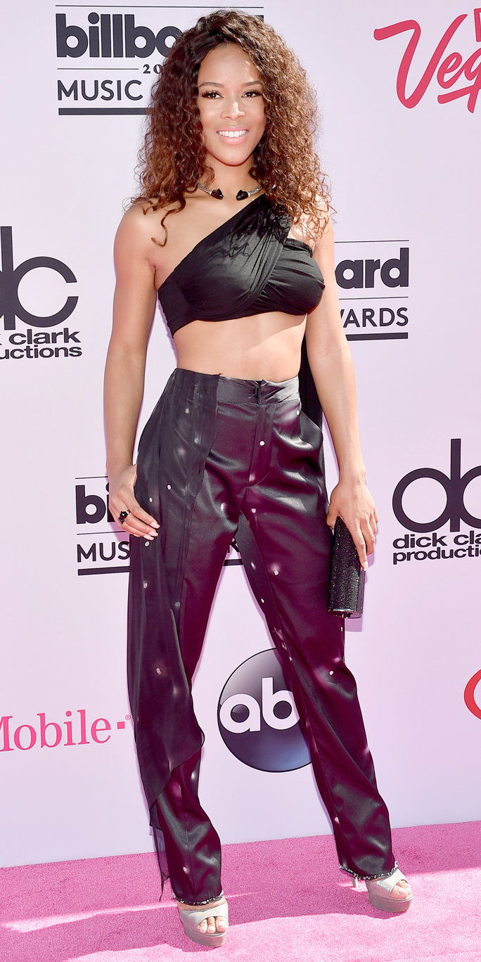 Pelakon Serayah McNeill attends the 2016 Billboard Music Awards at T-Mobile Arena on May 22, 2016 in Las Vegas, Nevada.