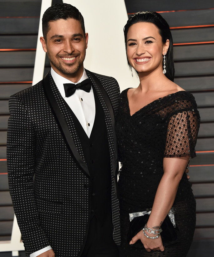 Demi Lovato and Wilmer Valderrama - Lead