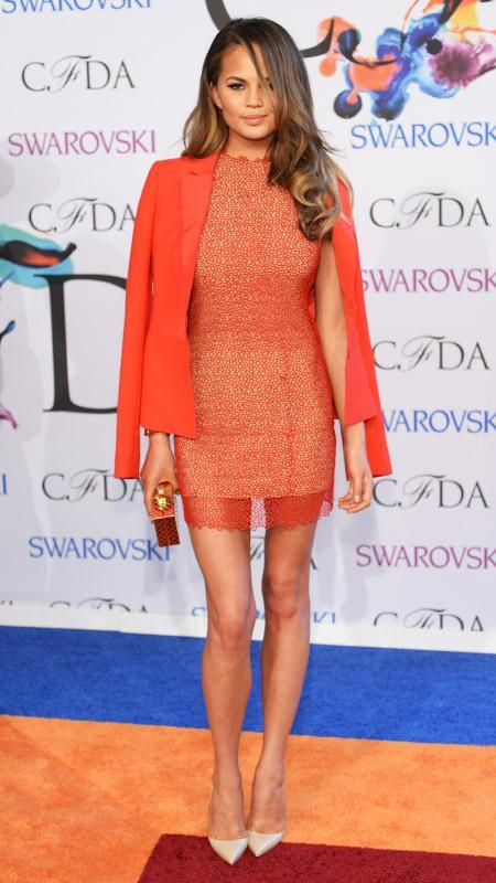 CFDA Awards Chrissy Teigen