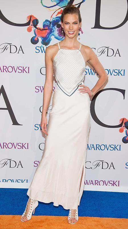 Karlie Kloss at the CFDA Fashion Awards