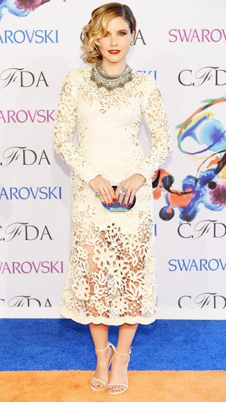 Sophia Bush at 2014 CFDA