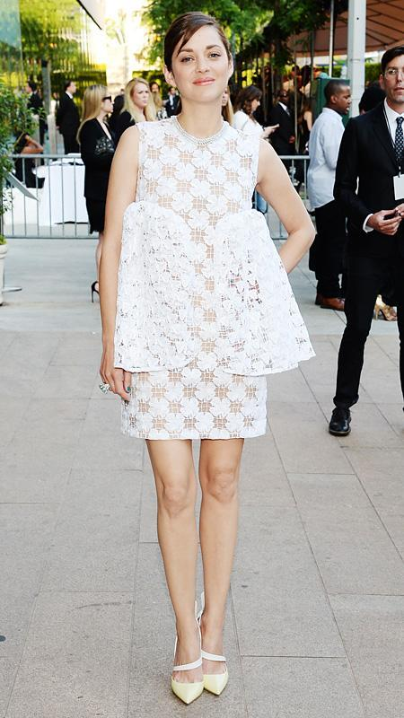 marion Cotillard at the CFDA Fashion Awards