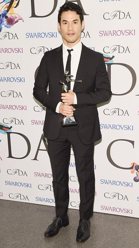 Joseph Altuzarra at the CFDA Fashion Awards