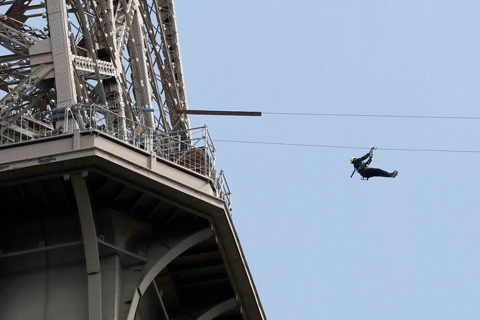 Eiffel Tower Zip Line 1