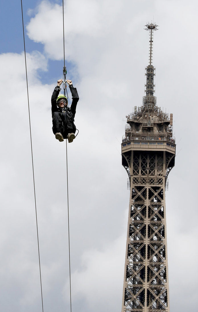 Eiffel Tower Zip Line 2