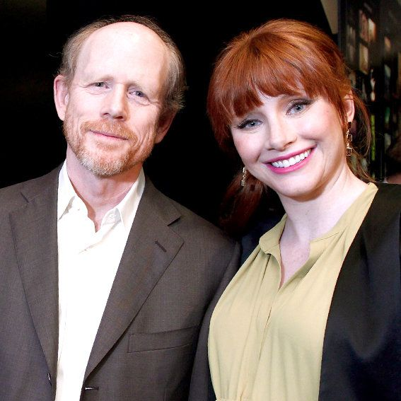 Bryce Dallas and Ron Howard