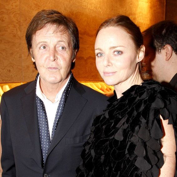 Paul and Stella McCartney