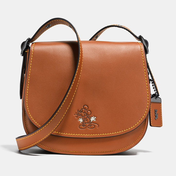 Disney x Coach 1941 Saddle Bag