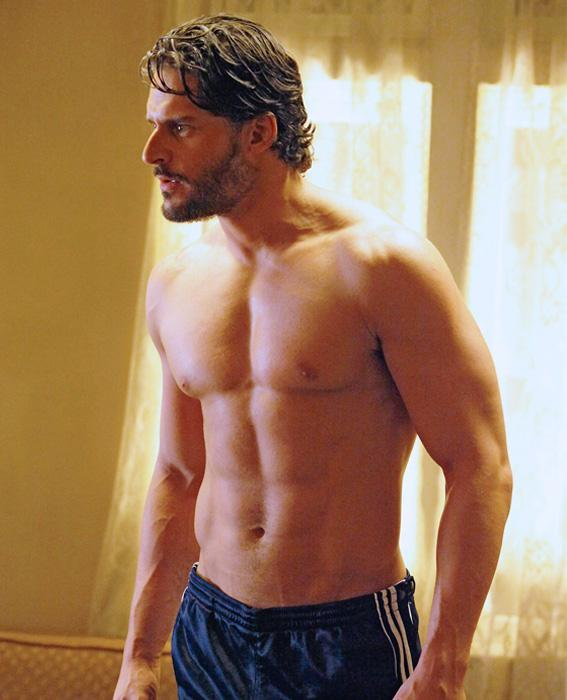 Joe Manganiello abs