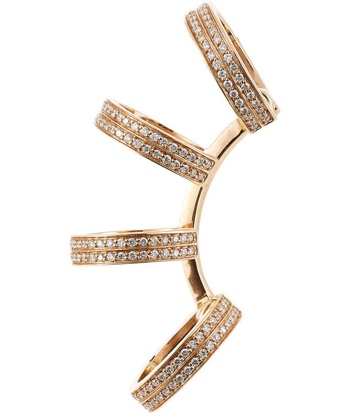 Repossi diamond ear cuff