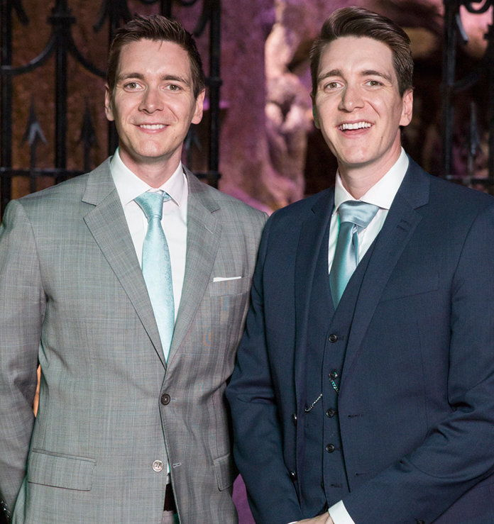 dezgoli Potter Cast Then/Now - Fred and George 2
