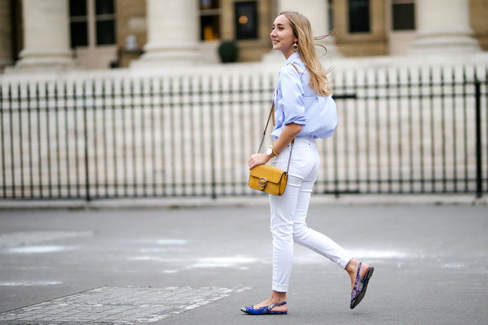 Editor White Jeans
