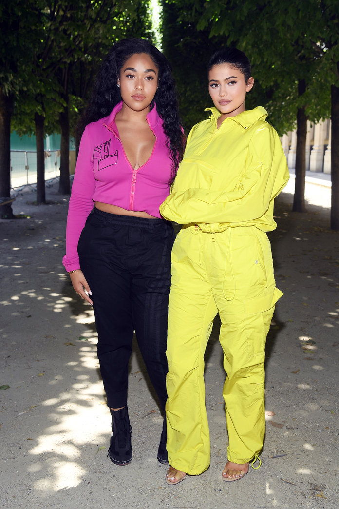 Jordyn Woods and Kylie Jenner
