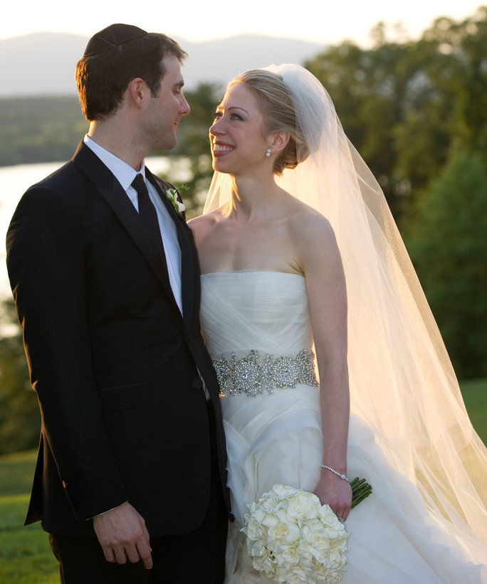 Chelsea Clinton and Marc Mezvinsky (2010)