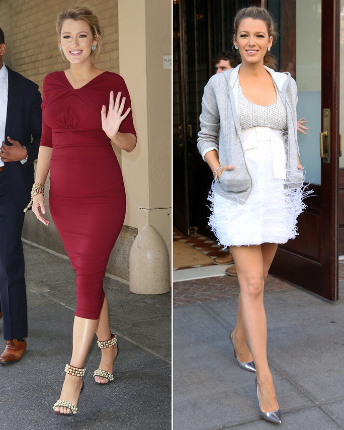 Blake Lively Maternity Style Lessons - Lead