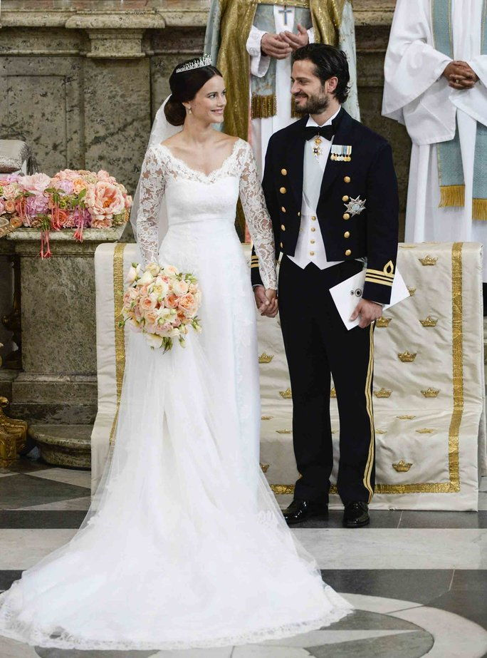 princ Carl Philip and Sofia Hellqvist of Sweden