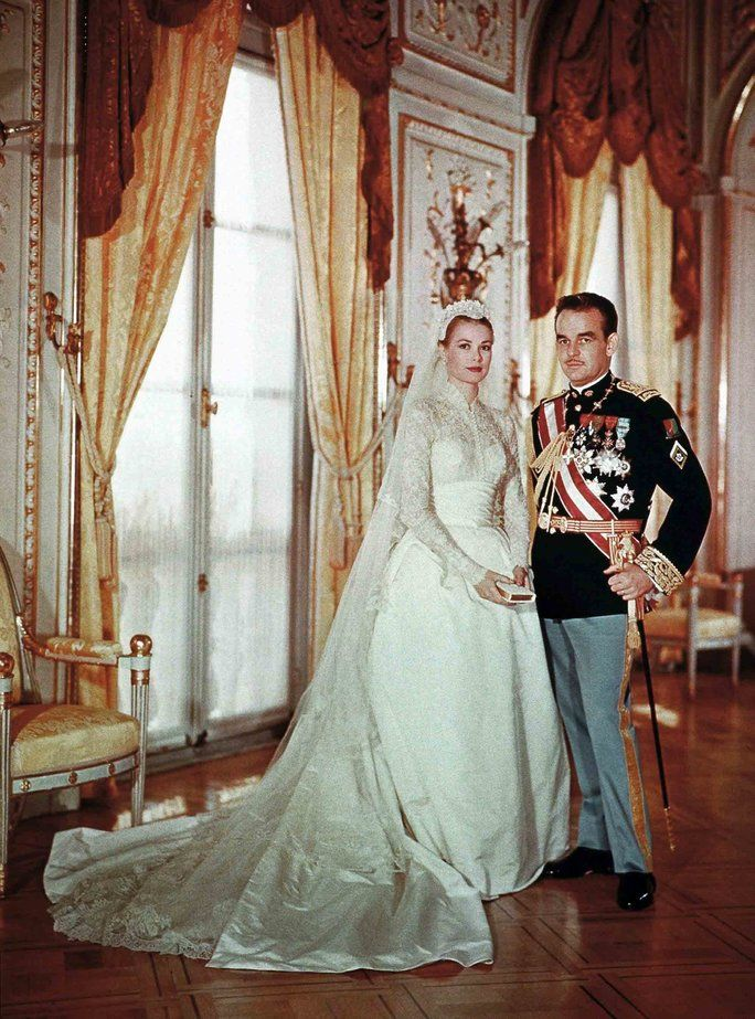 princ Rainier II and Grace Kelly of Monaco