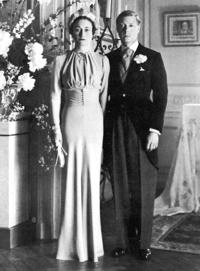 Duke of Windsor and Wallis Warfield Simpson of England