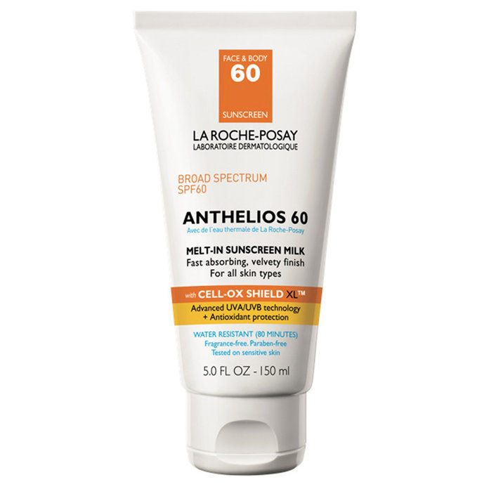 La Roche-Posay Anthelios Face and Body Sunscreen Melt-In Milk Lotion SPF 60