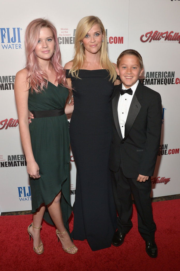 Reese, Ava, and Deacon at the 29th American Cinematheque Awards