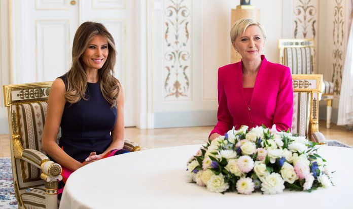 Melania Trump Poland First Lady - EMBED 2