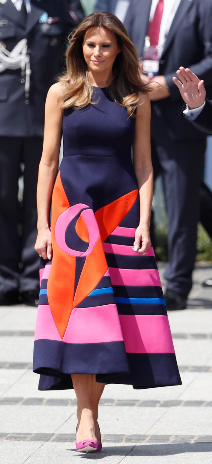 Melania Trump - Warsaw Dress