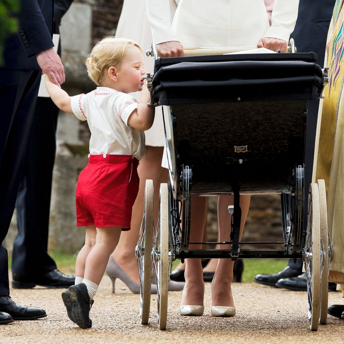 Il Christening Of Princess Charlotte Of Cambridge