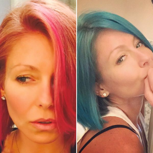 Kelly Ripa Hair Transformation - Lead/Slide