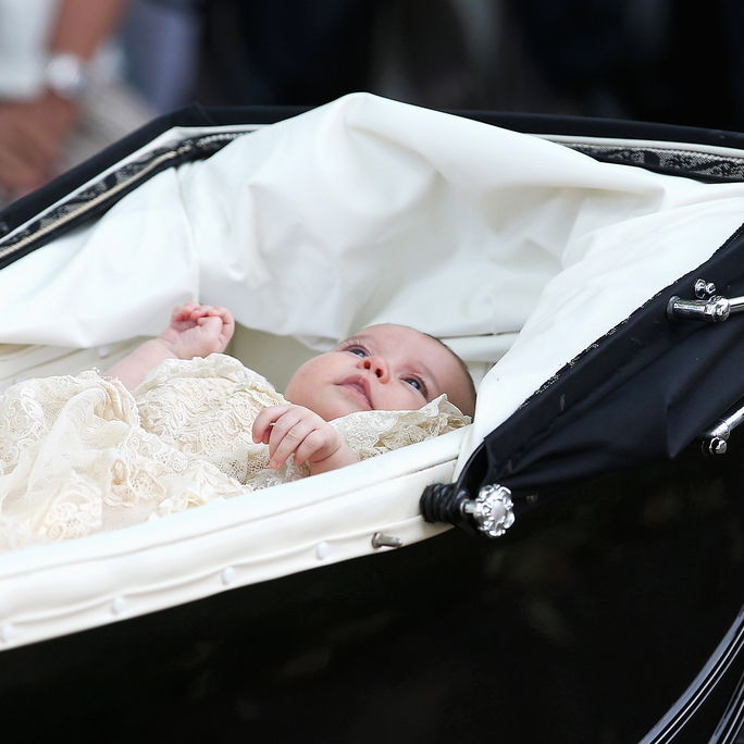 Christening Of Princess Charlotte Of Cambridge