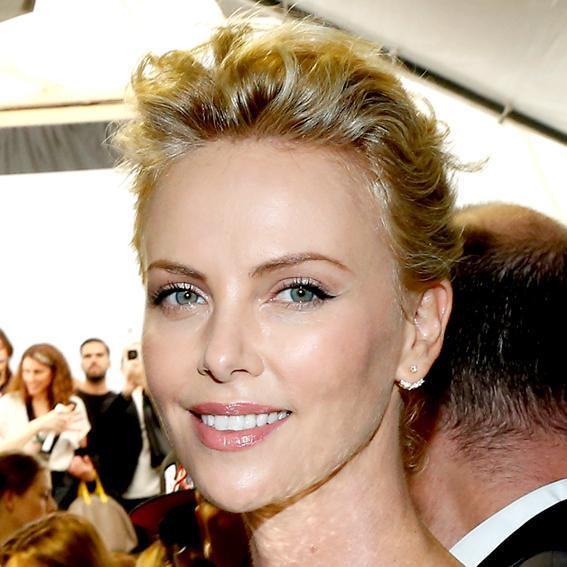 Charlize Theron Salon Inspiration