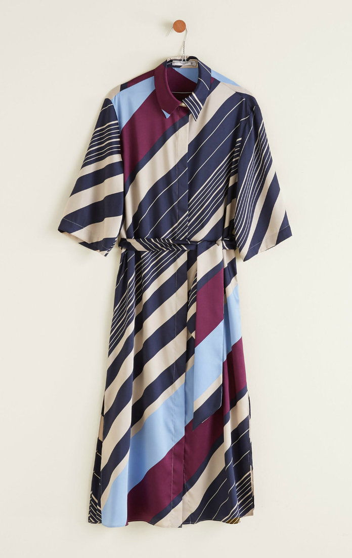 TLAČENÝ SHIRT DRESS