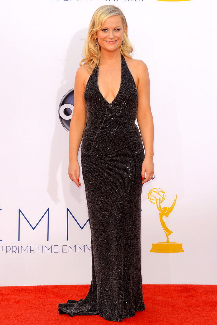 Amy Poehler at the Emmys in L.A. (2012)
