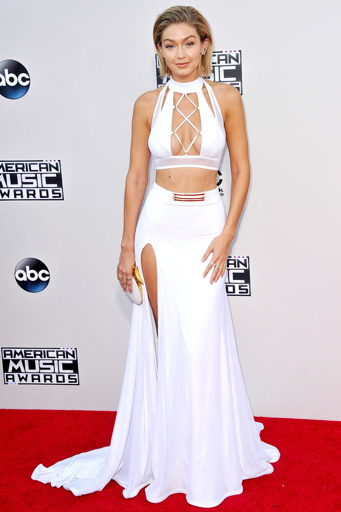 Gigi Hadid at the American Music Awards in L.A. (2015)