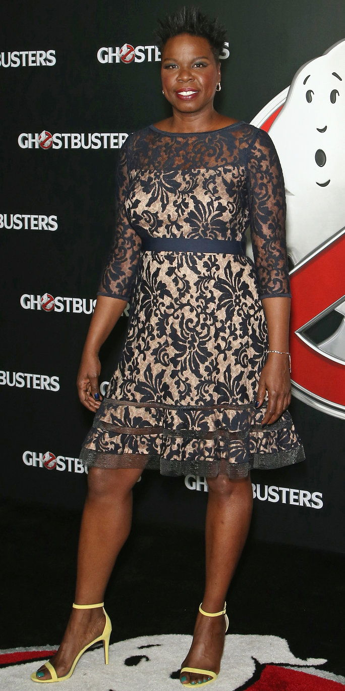 Leslie Jones at CinemaCon in Las Vegas, Nevada
