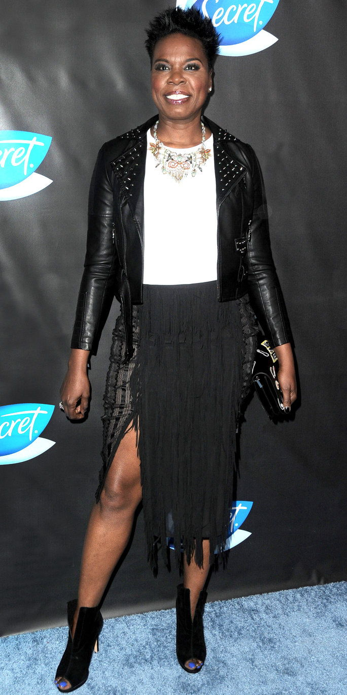 Leslie Jones at the Women in Comedy event in West Hollywood, California