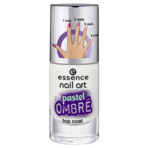Essenza Nail Art Pastel Ombre Top Coat