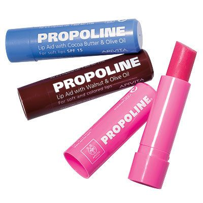 10 Bargain Finds From the Pros- Apivita Propoline Lip Aid SPF 15