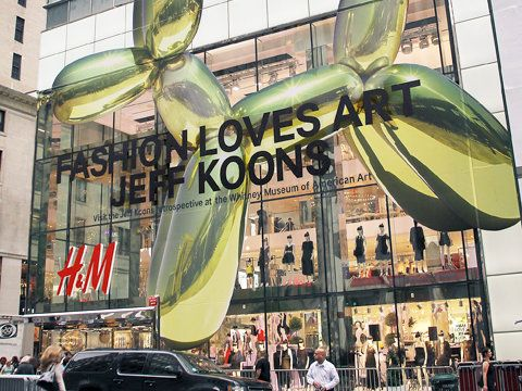 H & M Fifth Avenue Flagship Store in NYC