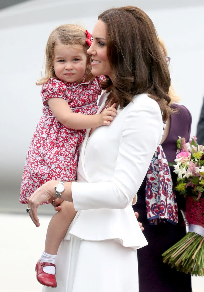 Royal Family Arrives in Poland