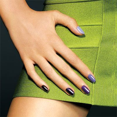 Segar Nails For Fall - Fade to Lilac