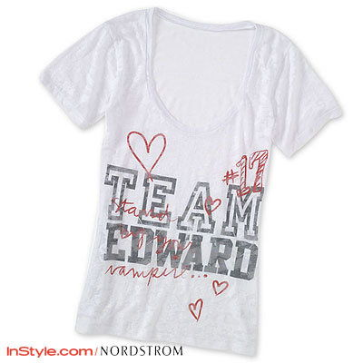 najprv Look: The Nordstrom Twilight Saga: New Moon Collection - Team Edward T-shirt