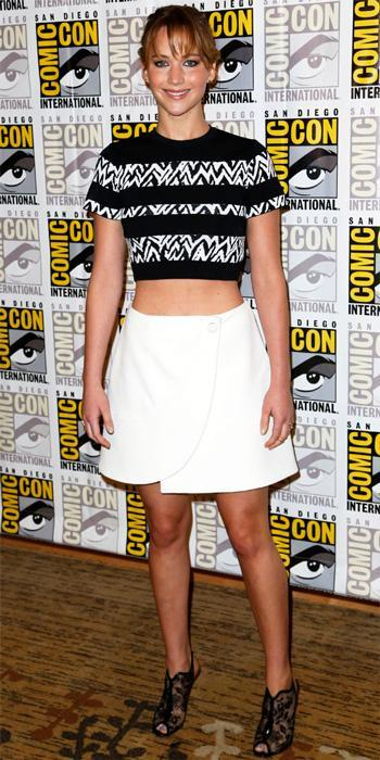 Jennifer Lawrence in Proenza Schouler