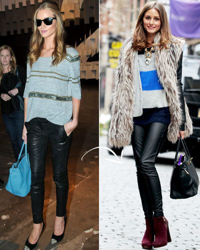 Double-Duty Pieces - Fall Fashion - Rosie Huntington-Whiteley - Elizabeth and James - Olivia Palermo - Daryl K