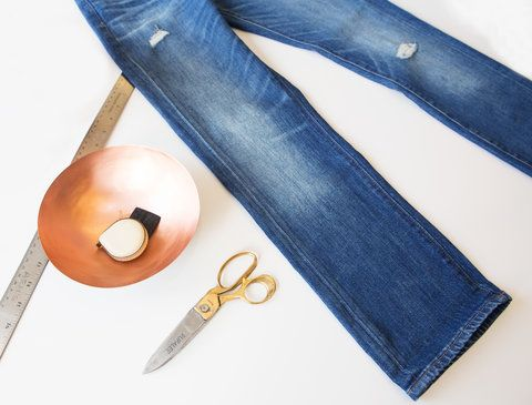 Madewell DIY Raw Hem VIDEO EMBED