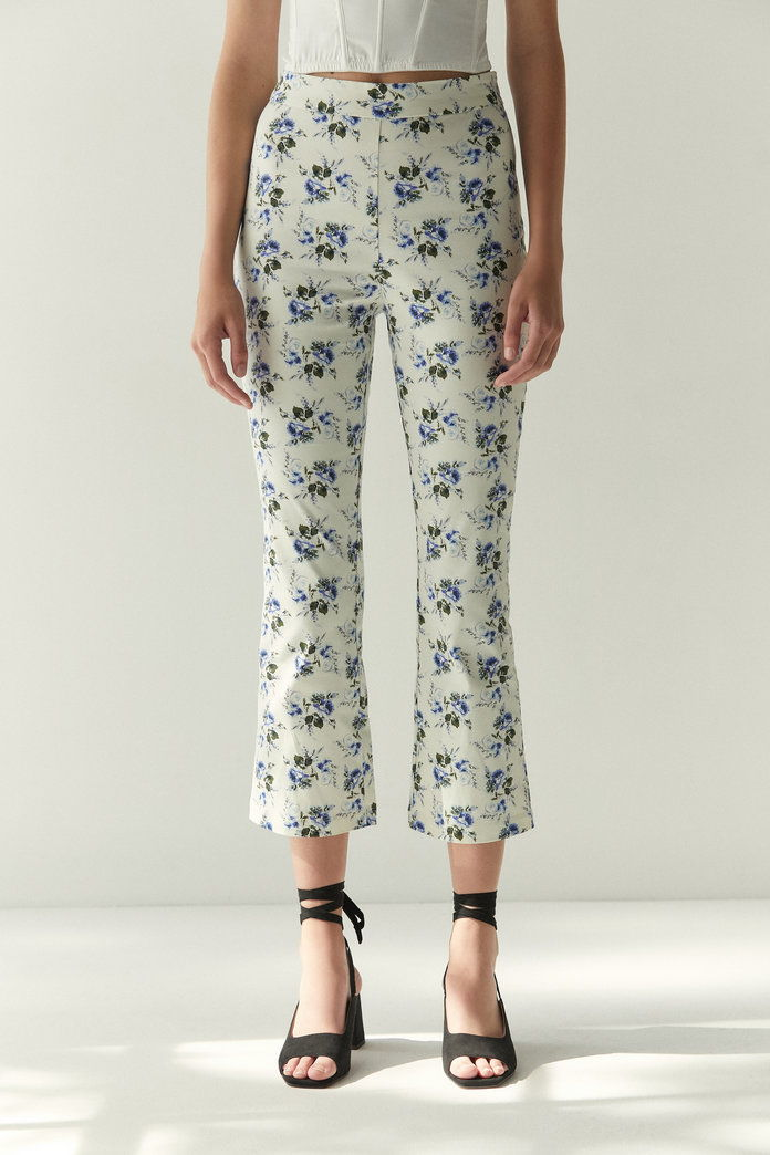 Laura Ashley & UO Leila Kick Flare Pant