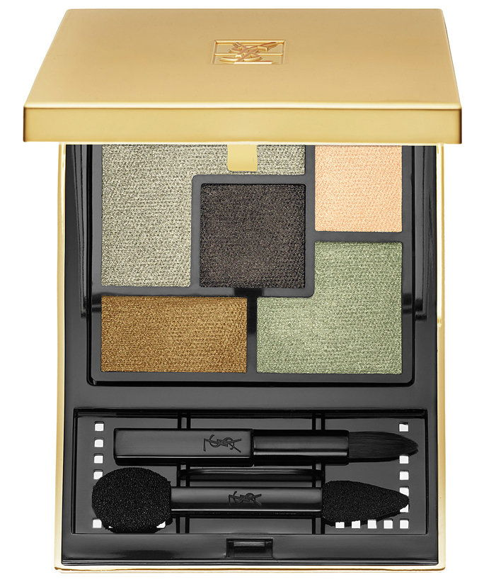 Marrone Eyes: Yves Saint Laurent Couture Palette in Couleurs 08