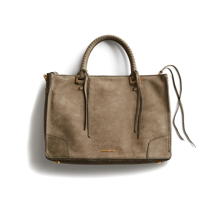 Regan Nubuck Satchel